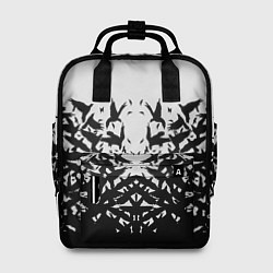 Рюкзак женский Птичий вихрь цвета 3D-принт — фото 1