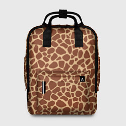 Рюкзак женский Жираф цвета 3D-принт — фото 1