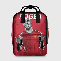 Рюкзак женский FC MU: Pogba цвета 3D-принт — фото 1