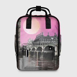 Рюкзак женский Закат в Великобритании цвета 3D-принт — фото 1