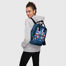 Рюкзак женский London: Great Britain цвета 3D-принт — фото 2