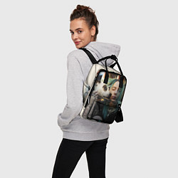 Женский городской рюкзак с принтом BILLIE EILISH, цвет: 3D, артикул: 10201688905839 — фото 2