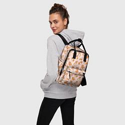 Рюкзак женский Корги цвета 3D — фото 2