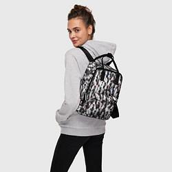 Рюкзак женский Черно-белые медведи цвета 3D — фото 2