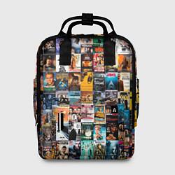 Рюкзак женский Постеры фильмов цвета 3D — фото 1