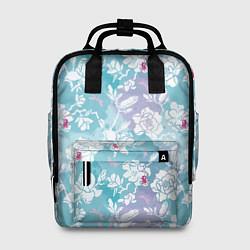 Рюкзак женский Mulan Flowers Pattern цвета 3D — фото 1