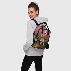 Рюкзак женский Сакура цвета 3D-принт — фото 2