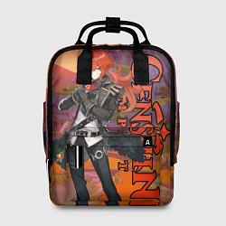 Рюкзак женский DILUC цвета 3D-принт — фото 1