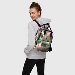 Рюкзак женский Камуфляж: микс цветов цвета 3D-принт — фото 2
