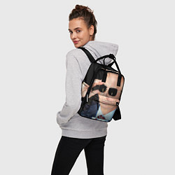 Рюкзак женский Путин в очках цвета 3D — фото 2