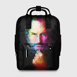 Рюкзак женский Стив Джобс цвета 3D — фото 1