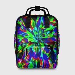Рюкзак женский Оксид красок цвета 3D — фото 1