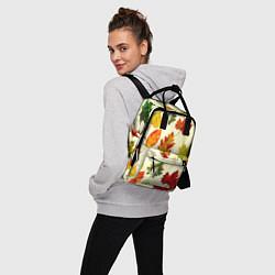 Рюкзак женский Осень цвета 3D — фото 2