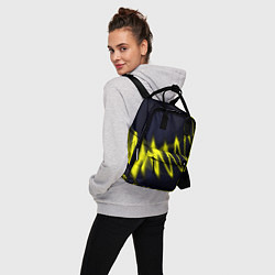 Рюкзак женский Молния цвета 3D — фото 2