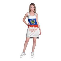 Туника женская Ekaterinburg: Russia цвета 3D-принт — фото 2