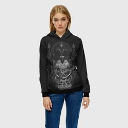 Толстовка-худи женская Wolves in the Throne Room цвета 3D-черный — фото 2