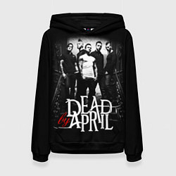 Толстовка-худи женская Dead by April: Dark Rock цвета 3D-черный — фото 1
