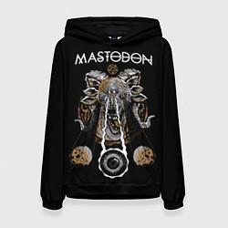 Толстовка-худи женская Mastodon цвета 3D-черный — фото 1