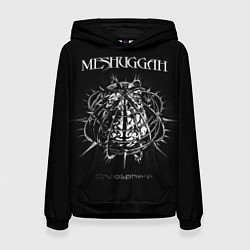 Толстовка-худи женская Meshuggah: Chaosphere цвета 3D-черный — фото 1