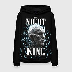 Толстовка-худи женская The Night King цвета 3D-черный — фото 1