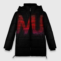 Куртка зимняя женская Manchester United team - фото 1