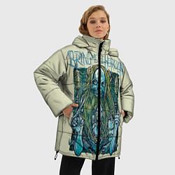 Женская зимняя 3D-куртка с капюшоном с принтом Bring Me The Horizon, цвет: 3D-черный, артикул: 10112870306071 — фото 2
