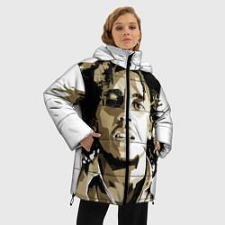Куртка зимняя женская Bob Marley: Mono цвета 3D-черный — фото 2