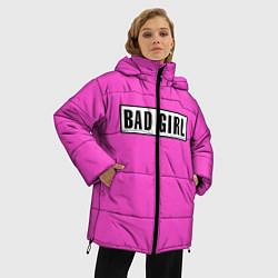 Куртка зимняя женская BAD GIRL цвета 3D-черный — фото 2
