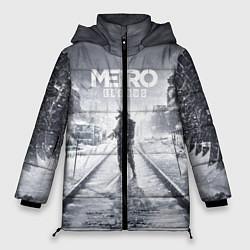 Женская зимняя 3D-куртка с капюшоном с принтом Metro Exodus, цвет: 3D-черный, артикул: 10141949906071 — фото 1