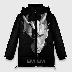 Куртка зимняя женская Eminem B&G цвета 3D-черный — фото 1