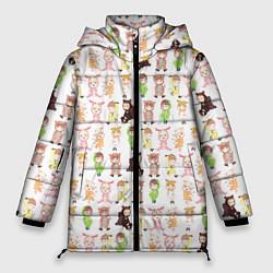 Женская зимняя 3D-куртка с капюшоном с принтом MONSTA X 10, цвет: 3D-черный, артикул: 10150080706071 — фото 1