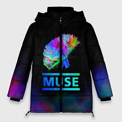 Куртка зимняя женская Muse: Neon Flower - фото 1