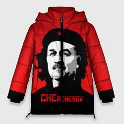 Женская зимняя 3D-куртка с капюшоном с принтом Che Rchesov, цвет: 3D-черный, артикул: 10155139506071 — фото 1