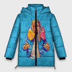 Куртка зимняя женская 6IX9INE 69 - фото 1