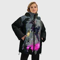 Женская зимняя 3D-куртка с капюшоном с принтом Apex Legends: Wraith, цвет: 3D-черный, артикул: 10172934506071 — фото 2