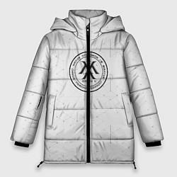 Женская зимняя 3D-куртка с капюшоном с принтом Monsta x, цвет: 3D-черный, артикул: 10187085506071 — фото 1