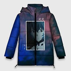 Женская зимняя 3D-куртка с капюшоном с принтом Первое дитя, цвет: 3D-черный, артикул: 10203908706071 — фото 1