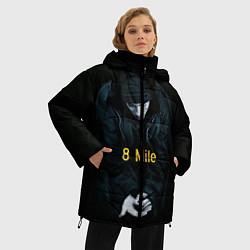 Куртка зимняя женская EMINEM цвета 3D-черный — фото 2