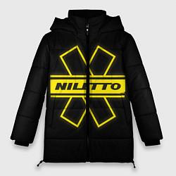 Женская зимняя 3D-куртка с капюшоном с принтом NILETTO, цвет: 3D-черный, артикул: 10210984706071 — фото 1