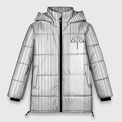 Женская зимняя 3D-куртка с капюшоном с принтом The umbrella academy Z, цвет: 3D-черный, артикул: 10256839706071 — фото 1