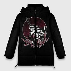 Женская зимняя 3D-куртка с капюшоном с принтом Evangelion, цвет: 3D-черный, артикул: 10275387706071 — фото 1