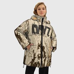 Женская зимняя 3D-куртка с капюшоном с принтом DayZ Standalone, цвет: 3D-черный, артикул: 10288714106071 — фото 2