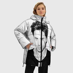 Куртка зимняя женская Джаред Лето цвета 3D-черный — фото 2