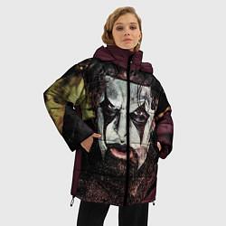 Куртка зимняя женская Slipknot Face цвета 3D-черный — фото 2