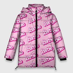 Куртка зимняя женская Barbie Pattern цвета 3D-черный — фото 1