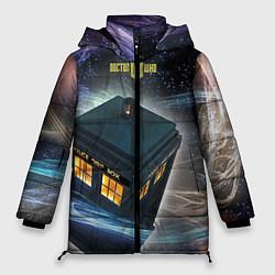 Куртка зимняя женская Police Box цвета 3D-черный — фото 1