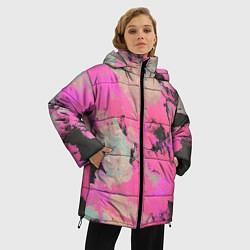Куртка зимняя женская Краска - фото 2