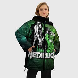 Куртка зимняя женская Metallica: Robert Trujillo - фото 2