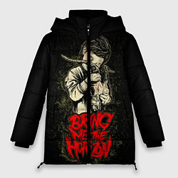 Женская зимняя 3D-куртка с капюшоном с принтом Bring Me The Horizon, цвет: 3D-черный, артикул: 10073644106071 — фото 1