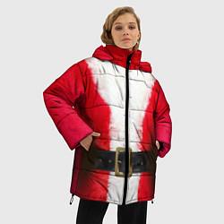 Куртка зимняя женская Дед мороз - фото 2